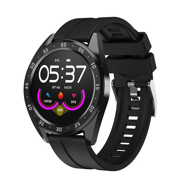 S10 Smartwatch for Samsung/ Iphone/ Android Phones, Support Heart Rate/ Blood Pressure Monitor IP67 Waterproof Fitness Tracker