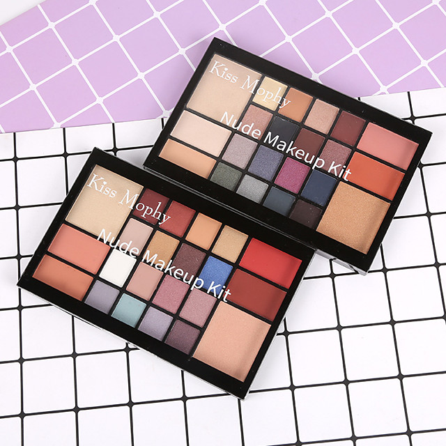 22 Colors Eyeshadow Eyeshadow Palette Matte Cosmetic EyeShadow Face Easy to Carry Women Best Quality Pro Ultra Light (UL) Girlfriend Gift Safety Convenient Daily Makeup Halloween Makeup Party Makeup