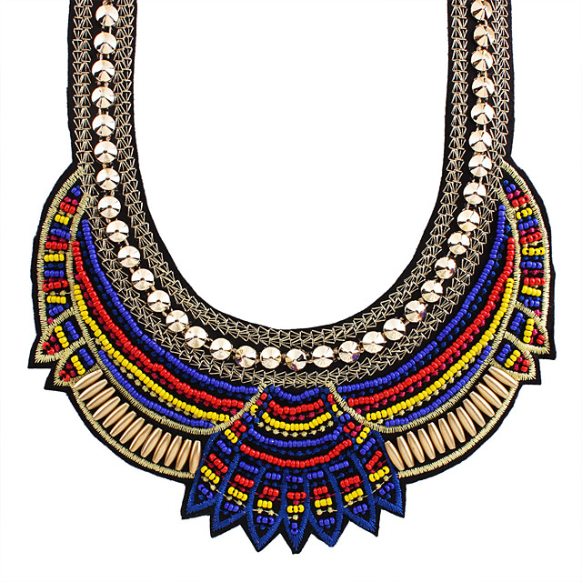 Necklace Necklace Masquerade Bohemian Boho Alloy For Gypsy Cosplay Halloween Carnival Women's Costume Jewelry Fashion Jewelry
