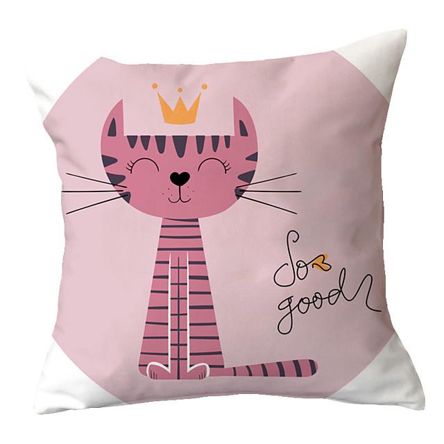 1 pcs Throw Pillow Cartoon Pastoral 45*45 cm