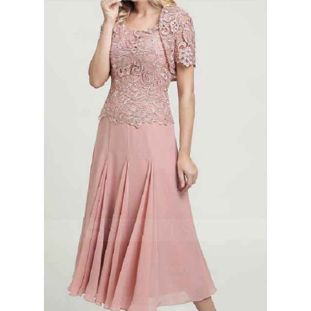Short Sleeve Shrugs Lace Wedding Women's Wrap With Lace / Ruching