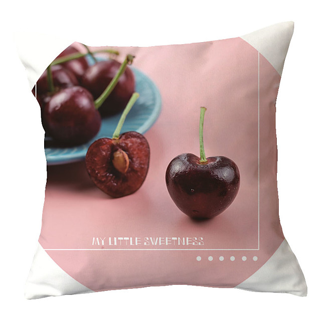 1 pcs Polyester Pillow Cover Modern Style Simple Girl Tie Pillow Pillow Cover Modern Fashion Living Room SOFA Cushion Waist Pillow Without Core