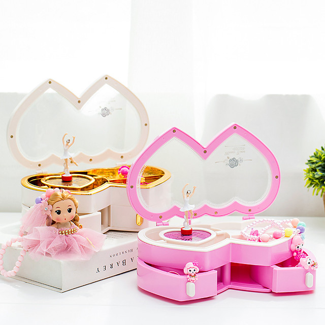 Music Box Ballerina Music Box Music Box Dancer Cute Singing Lovely Unique Plastic Shell Women's All Girls' Kid's Adults Child's 1 pcs Graduation Gifts Toy Gift