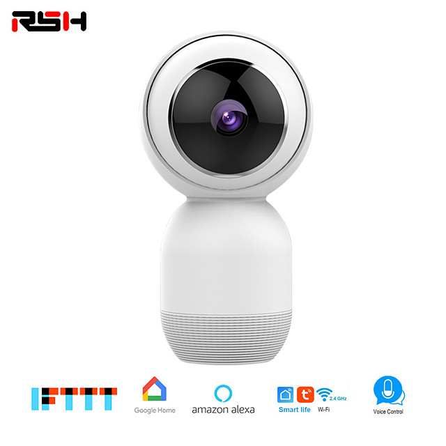 RSH Home Security IP Camera Wireless Smart WiFi Camera WI-FI Audio Record Surveillance Baby Monitor HD Mini CCTV Camera