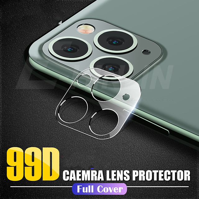 New 3D Film For iPhone 11 Pro Max Back Camera Lens Screen Protector Phone Camera Accessories For iPhone 11 Protective Film