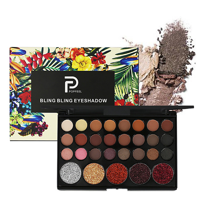 29 Colors Eyeshadow Eyeshadow Palette Matte Cosmetic EyeShadow Face Easy to Carry Women Best Quality Pro Ultra Light (UL) Girlfriend Gift Safety Convenient Daily Makeup Halloween Makeup Party Makeup