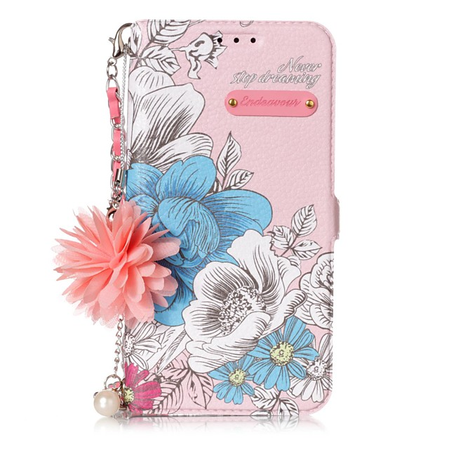 Case For Samsung S9 / S9 Plus / S8 Plus Shockproof / Dustproof / Ultra-thin Back Cover Flower TPU