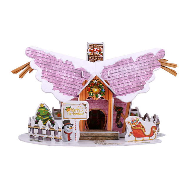 3D Puzzle Cartoon Simulation Pure Paper 22 pcs Kid's All Toy Gift