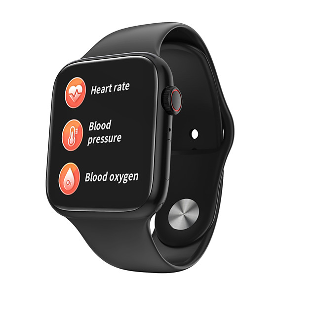 JSBP H128 Men Women Smartwatch Smart Watch BT Fitness Tracker Support Notify/Heart Rate Monitor Sport Smartwatch Compatible Iphone/Samsung/Android Phones