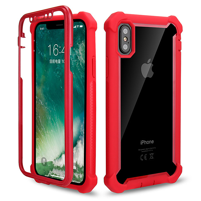 Case For Apple iPhone 11 / iPhone XR / iPhone XS Max Mirror Back Cover Solid Colored Tempered Glass / Metal