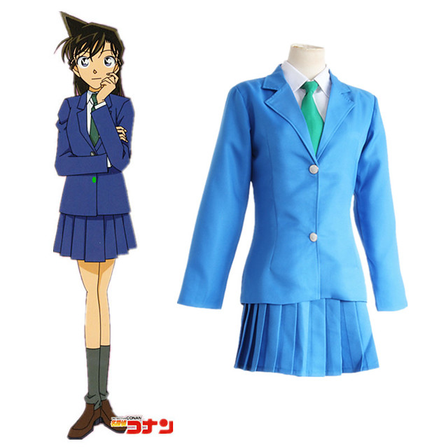 Inspired by Detective Conan Cosplay Anime Cosplay Costumes Japanese Cosplay Suits Top Waist Belt For Women's