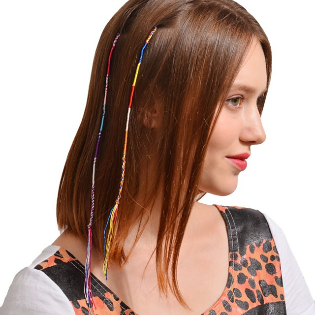 Women's For Casual Outdoor Festival Cord Rainbow 1pc