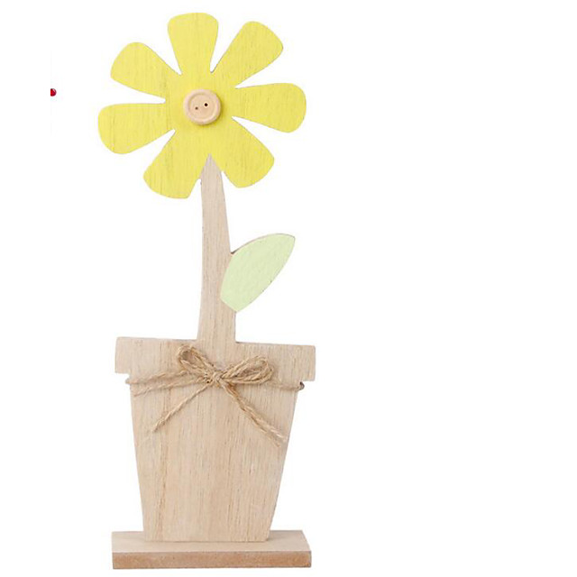 Happy Easter bunny egg sunflower Holiday Decorations object 1pc