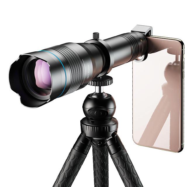 Mobile Phone Lens Long Focal Lens Glasses 60X 50 mm 5 m 3.3 ° Creative  Funny