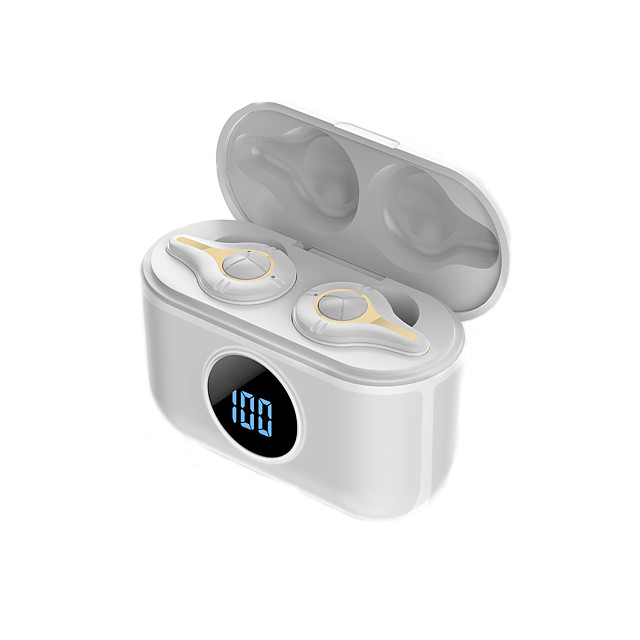 LITBest SE-16 TWS True Wireless Earbuds Wireless Bluetooth 5.0 Stereo Dual Drivers HIFI with Charging Box LED Power Display for Sport Fitness