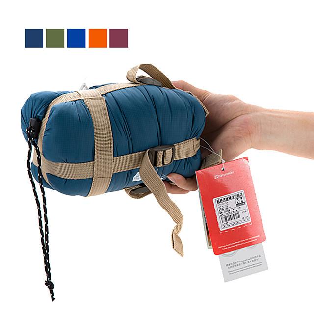 Naturehike Mini-Ultralight Sleeping Bag Outdoor Camping Envelope / Rectangular Bag 15 °C Single Imitation Silk Cotton Portable Mini Warm Ultra Light (UL) 190*75 cm Spring Summer for Hiking Camping