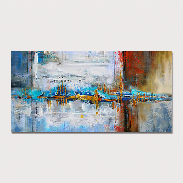 Hand Painted Rolled Canvas Oil Painting  Abstract Modern Home Decoration  Painting Only