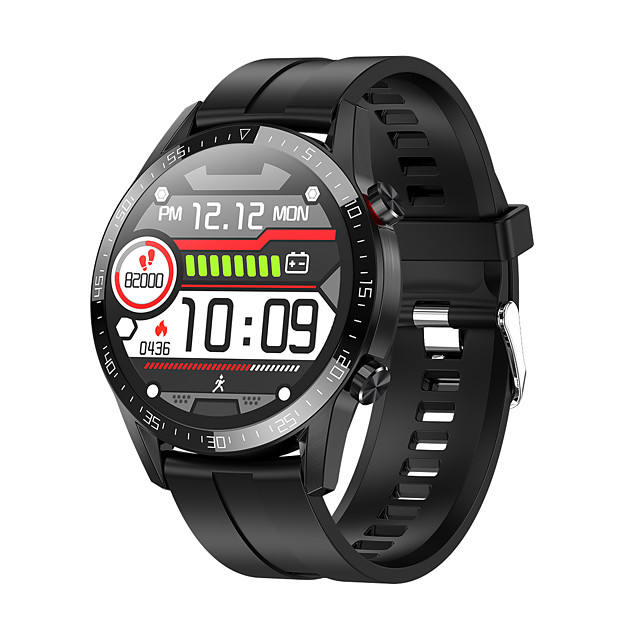 BoZhuo L13 Men Women Smartwatch Android iOS 1.3 IPS Full Touch Screen Fashionable IP68 Swimming Waterproof Pedometer Sleep Monitor Heart Rate Bluetooth Call Sports FitnessTracker Smart Watch