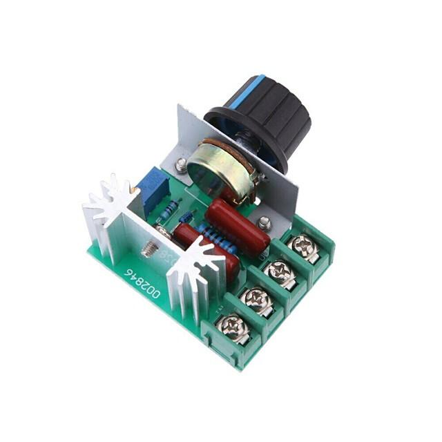 2000W AC50-220V SCR High-power Electronic Voltage Regulator Module