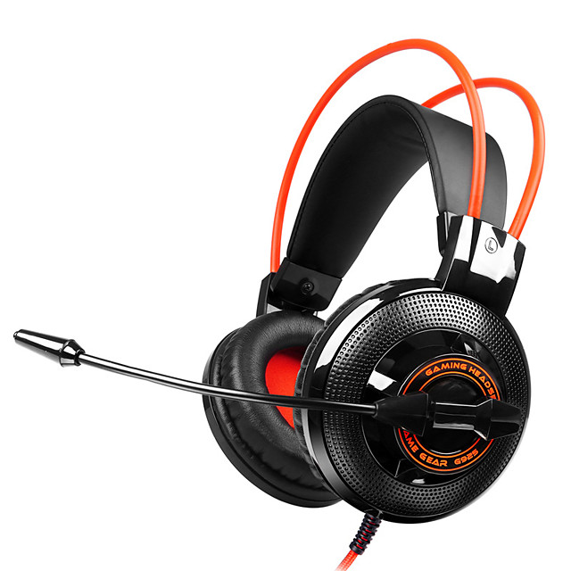 SOMiC G925 Wired Headphone 3.5mm Gaming Headset for PC Laptop phone Over Ear with Mic earphone headphones for computer