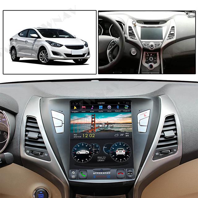 ZWNAV 10.4inch 1din 4GB 64GB Tesla style Car GPS Navigation Car multimedia player Car MP5 Player Auto stereo radio tape recorder For Hyundai Elantra 2014-2016