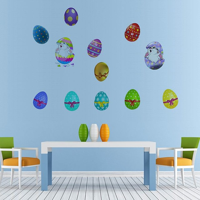 Easter bunny Decorative Wall Stickers - Plane Wall Stickers Holiday Indoor