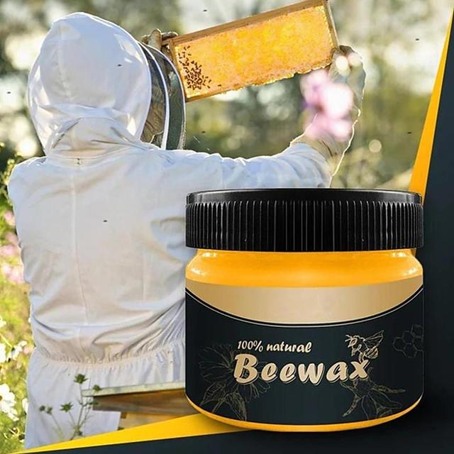 Wood Seasoning Beewax Complete Furniture Polishing Solution Care Beeswax Wax