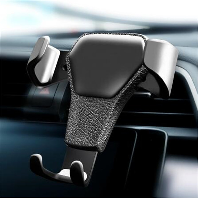 Car Holder For iPhoneX XS Car GPS Air Vent Clip Mount No Magnetic Mobile Phone Holder Cell Phone Stand Holder for iPhone 7 8 X
