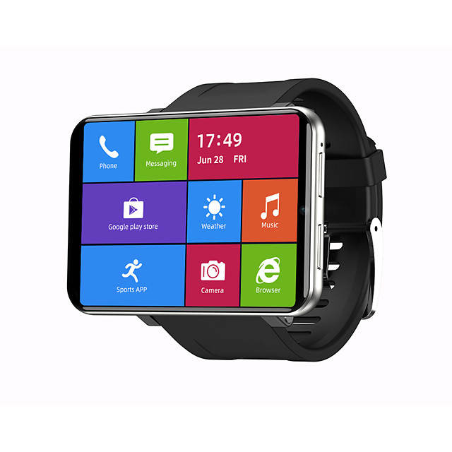 Face UnlockTICWRIS MAX 2.86 Inch HD Screen Smart Watch 3G32G 4G-LTE 2880mAh Battery Capacity 8MP Camera GPS Watch Phone
