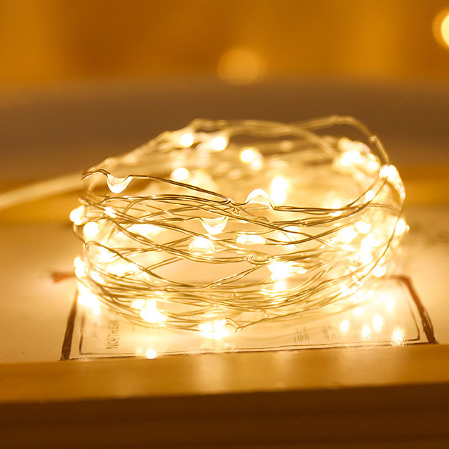 3 Mode 20LED String Light String Fairy Warm Garland Home Christmas Wedding Party Decoration