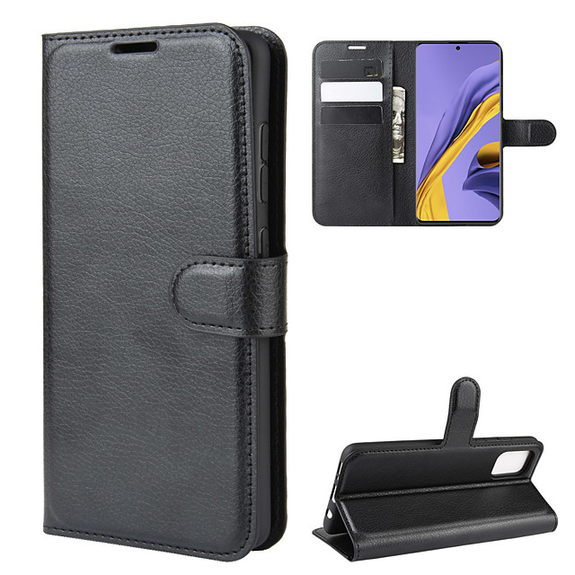Case For Samsung Galaxy A5(2018) / Galaxy A7(2018) / A3(2017) Wallet / Card Holder / Shockproof Full Body Cases Solid Colored PU Leather