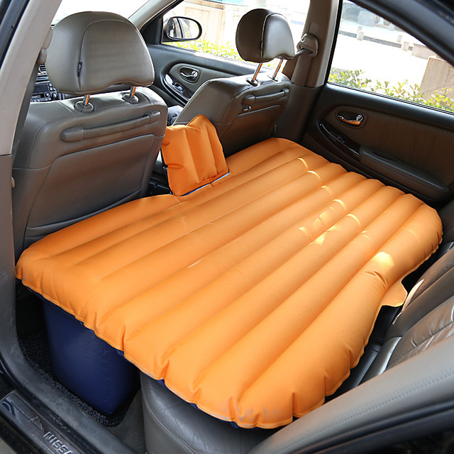 Air Pad Air Bed Outdoor Camping Portable Soft Compact Oxford 135*88*42 cm for 2 person Camping Camping / Hiking / Caving Traveling All Seasons Black Orange Blue