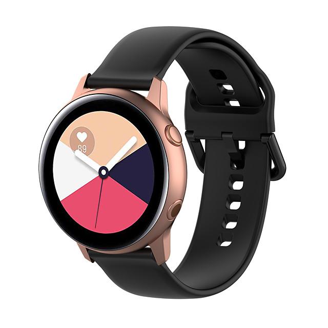 Watch Band for Vivomove / Vivomove HR / Vivoactive 3 Garmin Classic Buckle Silicone Wrist Strap