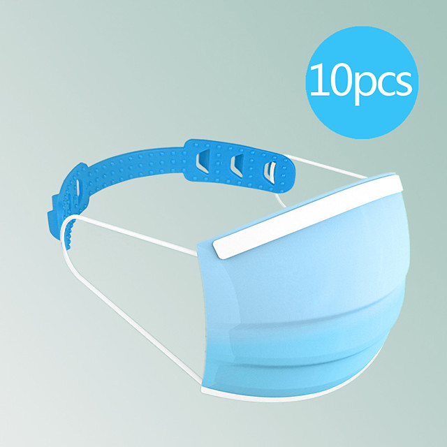 Universal Mask Size Extending Hook Child Adult Slip Wearing Masks Snap Extender Headphone Cable Winder Charging Cable Winder Random Color