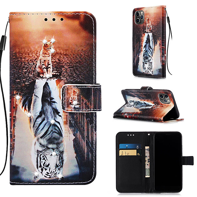 Case For Apple iPhone 11 / iPhone 11 Pro / iPhone 11 Pro Max Wallet / Card Holder / with Stand Full Body Cases Animal PU Leather for iPhone XS MAX XR XS X 8 PLUS 7 PLUS 6 PLUS 8 7 6S