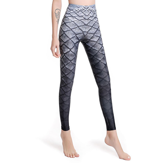 Women's Dive Skin Leggings Swimwear Breathable Quick Dry Swimming Water Sports Patchwork Autumn / Fall Spring Summer / Winter / High Elasticity