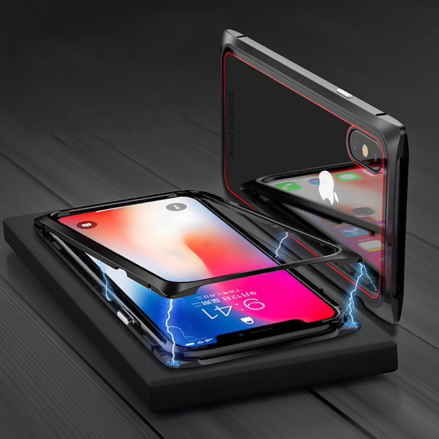 iPhoneX / XS Ultra-strong Tempered Glass Can Not Break The Wanciwang Mobile Phone Case 7/8 Four-corner Metal Drop-proof And Impact-proof 2020 Latest Generation Wanciwang 7 / 8Plus Tempered Glass Prote