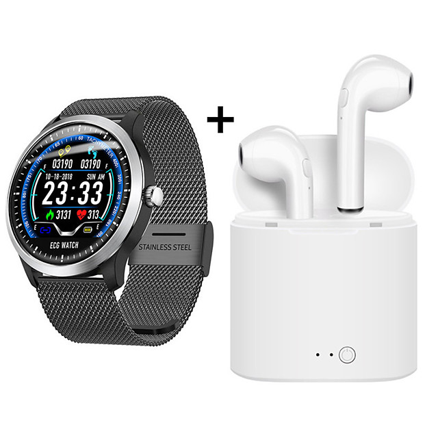 N58 Smart Watch ECG PPG Heart rate Blood Pressure Monitor IP67 Waterpoof Pedometer Sports Fitness Bracelet
