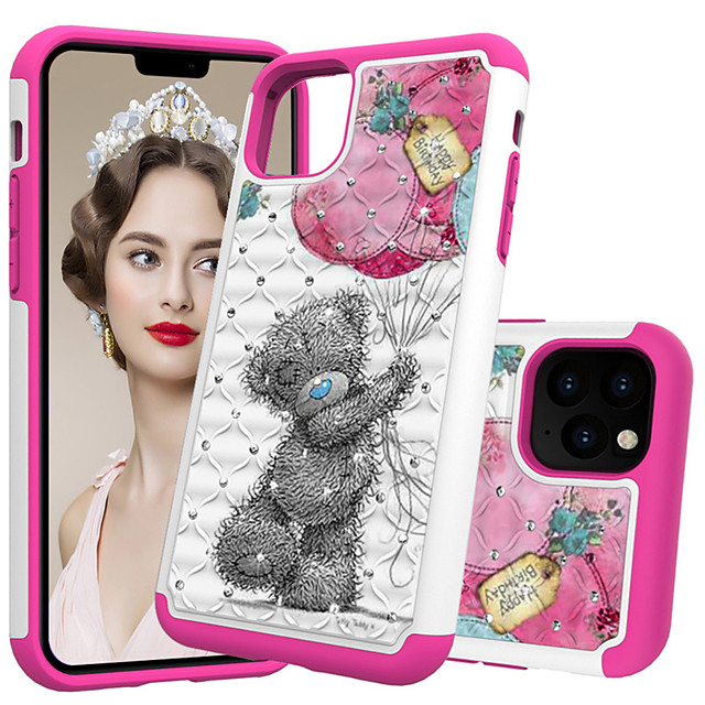 Painted pattern PC  TPU mobile phone case iPhone11 Pro Max iPhoneX / Xs XR XSMax iPhone6 / 6s 7/8 Plus multiple patterns