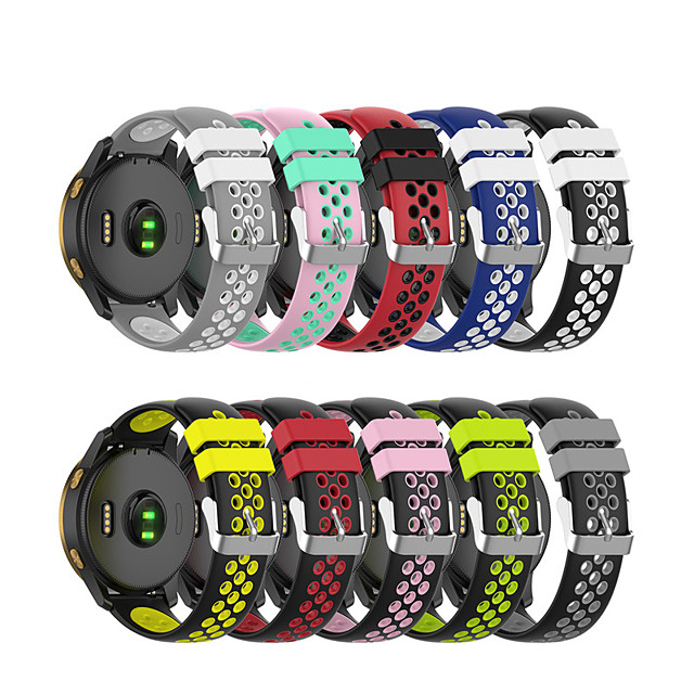 Watch Band for Xiaomi Mi watch color Xiaomi Sport Band / Modern Buckle Silicone Wrist Strap
