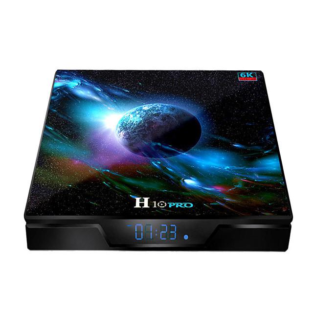 H10 PRO TV BOX Android 9.0 Allchi H603 TV BOX 6K Ultra Hd Dual Band WIFI Playback
