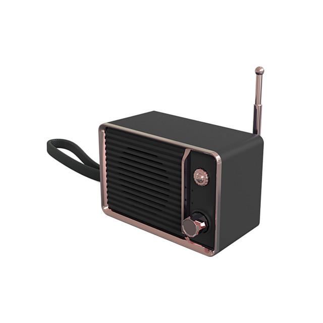 LITBest 3D Surround Mini Retro Rechargeable Audio Portable Heavy Bass Travel Wireless USB HIFI Stereo Cute Bluetooth Speaker