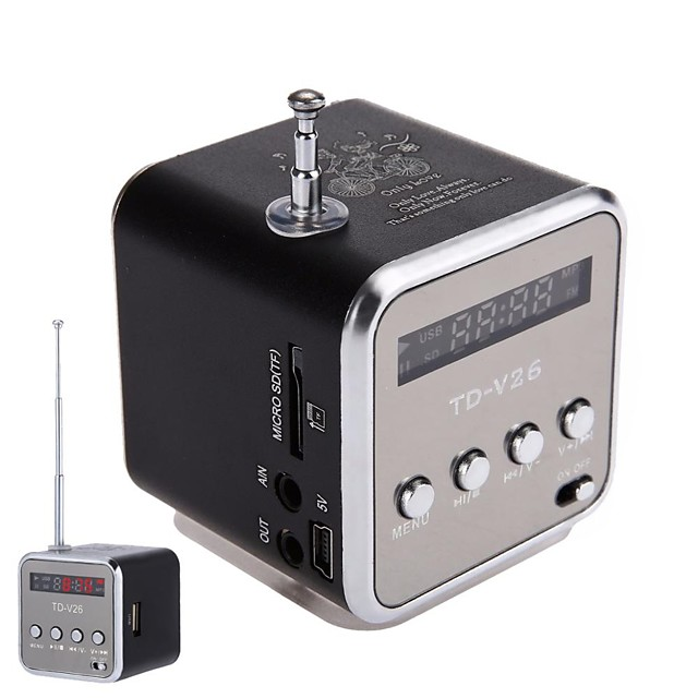 Mini Speaker Portable Micro SD TF Card USB Disk musicAmplifier Stereo Loudspeaker for DVD Laptop Mobile Phone MP3 player