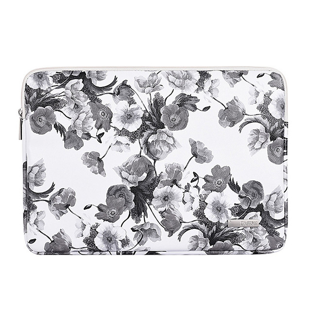 11.6 13.3 14.1 15.6 inch Universal PU Leather Vintage Print Water-resistant Shock Proof Laptop Sleeve Case Bag for Macbook/Surface/Xiaomi/HP/Dell/Samsung/Sony Etc