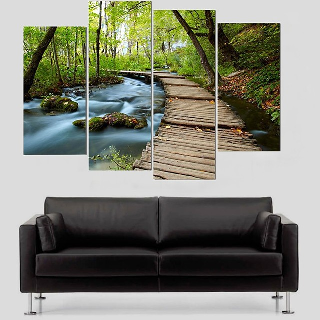 5 Panels Modern Canvas Prints Painting Home Decor Artwork Pictures Decor Print Rolled Stretched Modern Art Prints Animals Abstract