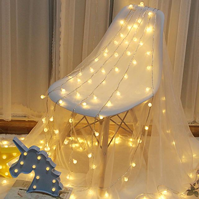 LED3M Ball Light String Outdoor Christmas Day Bubble Ball Lantern Starry Wedding Birthday Decoration String Light