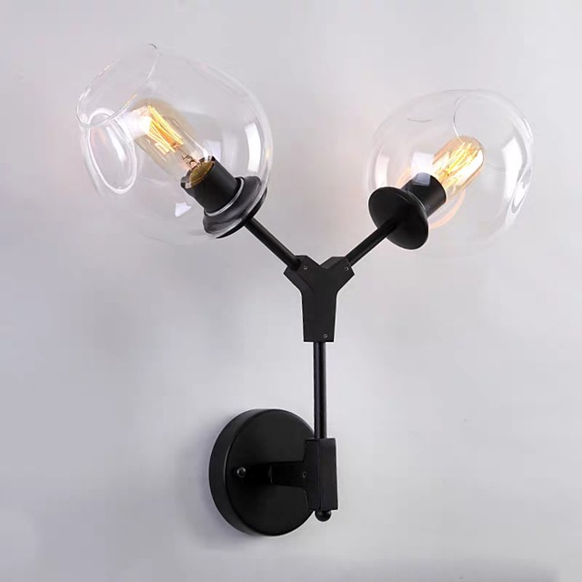 Creative Modern Contemporary Wall Lamps & Sconces Bedroom / Study Room / Office Metal Wall Light 110-120V / 220-240V 60 W