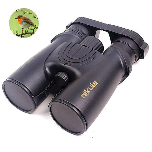 10 X 42mm Binoculars Porro Anti Fog High Definition Matte UV Protection 6 m Multi-coated BAK4
