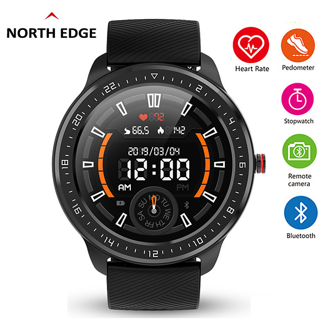 N06 Fitness Tracker for Android/ IOS Phones, Full Round-screen Smartwatch Support Heart Rate/ Blood Pressure Measurement