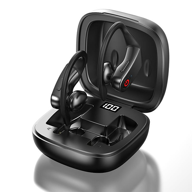 LITBest B10 TWS True Wireless Earbuds Wireless Bluetooth 5.0 Stereo HIFI with Charging Box for Travel Entertainment